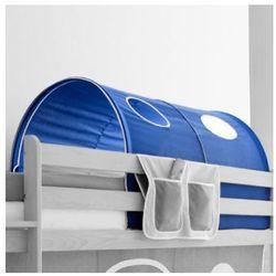 TICAA Tunel do łóżek piętrowych Dworek kolor ciemnoniebieski (4250393837318)