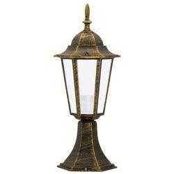 Sanico Lampa stająca niska polux liguria 42cm 1x60w e27 ip43 patyna alu1047p1 (5903137201973)