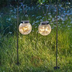 Esotec Solarne oświetlenie dekoracyjne smart globe 2 szt. (4260057867810)