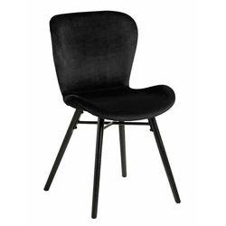 Actona Krzesło batilda vic black - czarny (5713941069726)