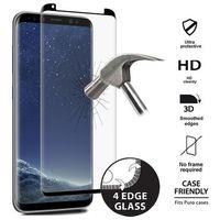 Puro  premium full edge tempered glass case friendly - szkło ochronne hartowane na ekran samsung galaxy s8 (c