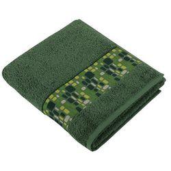 Bellatex Ręcznik Kamienie zielony, 50 x 100 cm , 50 x 100 cm z kategorii Ręczniki