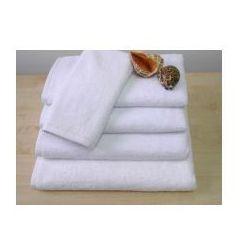 Ręcznik Hotelowy AQUA 50x100 cm Biały 100% bawełna 500 gr/m2