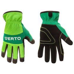 Rękawice robocze VERTO Zielono-czarny (Rozm.10)