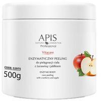 Apis  vitacare enzymatyczny peeling do pielęgnacji ciała z żurawinową i jabłkiem (52975)