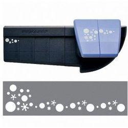 Dziurkacz Fiskars narożno-brzegowy - śnieżynki i bąbelki - produkt z kategorii- Ozdobne dziurkacze