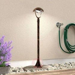 Trio GRACHT Zewnętrzna lampa stojąca LED Ciemnobrązowy, Rudy, 1-punktowy - Klasyczny - Obszar zewnętrzny -