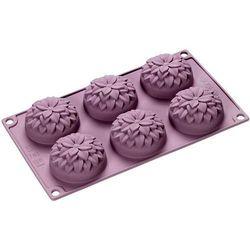 Silikonowa forma na 6 ciasteczek dalie  flexiform marki Lurch