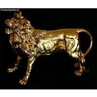 Figurka Dostojny Złoty Lew
