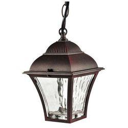 Zewnętrzna LAMPA wisząca PARIS 300669 Polux metalowa OPRAWA klasyczna ogrodowa LED 6W IP43 outdoor latarnia