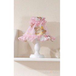 MAMO-TATO Lampka Nocna Drabinki z misiami na różowym tle