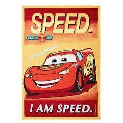 Thk Czerwono-żółty dywan dziecięcy cars 140x200 akryl / gwarancja 24m / najtańsza wysyłka!