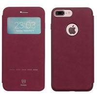 Baseus - apple iphone 7 plus - etui na telefon baseus simple series leather case - czerwone marki Etuo.pl