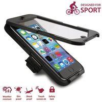 Etui i uchwyt rowerowy PURO Bike Case W/ Bike Holder iPhone 6 / 6S Czarny, kolor czarny