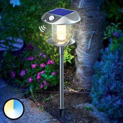 Lampa ogrodowa solarna z czujnikiem ruchu Esotec, 102092, Sunnylight, LED wbudowany na stałe, 2x 1,2 V (900 m