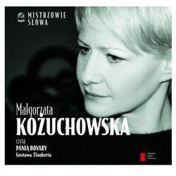 Małgorzata Kożuchowska czyta 'Panią Bovary. Audiobook + książka (ilość stron 32)