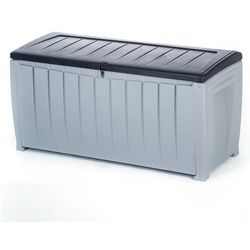 Skrzynia ogrodowa curver novel storage box 340l szary 953 - czarny 900 marki Keter