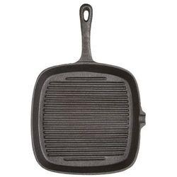 Patelnia żeliwna grillowa kwadratowa Kitchen Craft (5028250126849)