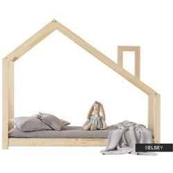 Selsey łóżko dalidda domek z kominem