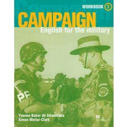 Język angielski, Campaign 2 workbook English for the military, Cambridge, pozycja wydawnicza