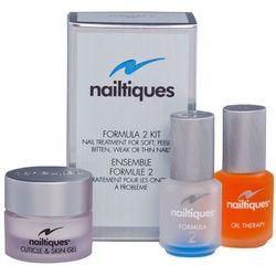 Nailtiques formula 2 kit | zestaw pielęgnacji wzmacniającej paznokcie
