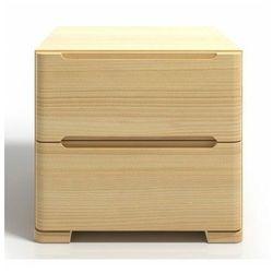 Szafka nocna drewniana z szufladami Ventos 7S - 6 kolorów, Sparta Maxi