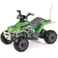 PEG PEREGO Quad Corral Bearcat Pink 6V, zielony (8005475362938)