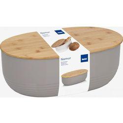 Kela chlebak NAMUR plastik/drewno, szary, KE-12062 (10957900)