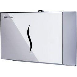 Pojemnik na ręczniki papierowe składane DUO S Faneco stal szlachetna połysk - sprawdź w wybranym sklepie