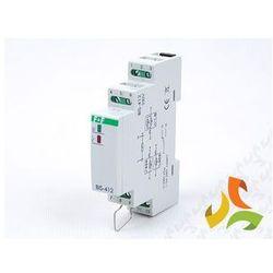 Przekaźnik bistabilny grupowy (hotelowy) na szynę BIS-412 F&F (świetlówka) od MEZOKO.COM