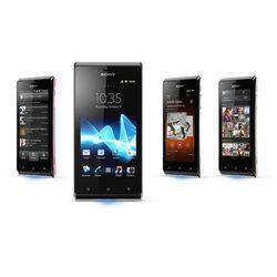 Sony Xperia J ST26i 4GB Różowy - Różowy \ 2 lata na terenie całego kraju + polskie menu + bez sim locka z