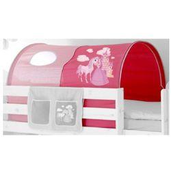 TICAA Tunel do łóżek piętrowych Konik kolor różowy ()