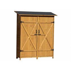 Vente-unique Drewniana szafa ogrodowa keila