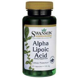 Swanson ALA Kwas alfa liponowy 100mg 120 kaps., postać leku: kapsułki