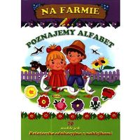 Na farmie Poznajemy alfabet, oprawa broszurowa