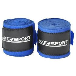 Bandaż bokserski  a1660 niebieski (4 m) + darmowy transport!, marki Axer sport