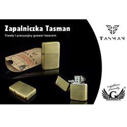 Zapalniczka Tasman Brass Sunrise z kategorii Papierośnice i pudełka na cygara