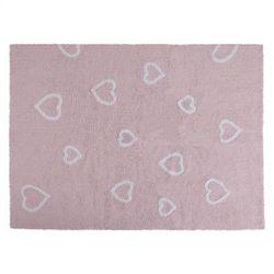 Dywan do Prania w Pralce Corazones Rosa/Pink z kategorii Dywany dla dzieci