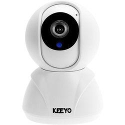 Niania elektroniczna lv-ip12ptz kamera ip hd wifi bezprzewodowa 1mpx ir 8m marki Keeyo