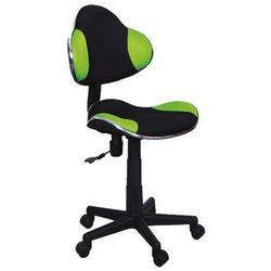Fotel Q-G2 Zielony Czarny