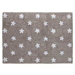 Dywan do Prania w Pralce Linen Stars White z kategorii Dywany dla dzieci