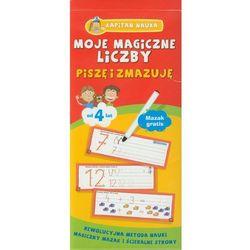 Moje magiczne liczby Piszę i zmazuję, produkt marki praca zbiorowa