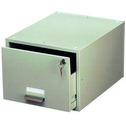 Kasetka na kartoteki Durable Cardbox A4 szara 3351-10, 82710