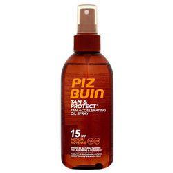 Piz buin  tan & protect tan accelerating oil spray spf15 150ml w opalanie