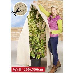 Agrowłóknina zimowa do ochrony roślin, drzewek, krzewów, rozmiar 200 x 500 cm, WENKO