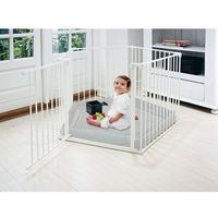 Baby Dan kojec Park A Kid - biały - odbiór w 2000 punktach - Salony, Paczkomaty, Stacje Orlen (5705548028114