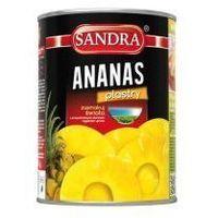 Ananas plastry 580 ml Sandra (8850004013252)