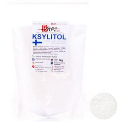 Ksylitol, xylitol (1kg) – cukier brzozowy produkcji fińskiej – BRAT.PL - sprawdź w wybranym sklepie