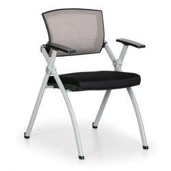 B2b partner Krzesło konferencyjne rest, szare