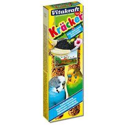 Vitakraft  kracker - kolba sezamowa z bananem dla papużki falistej 2szt., kategoria: pokarmy dla ptaków